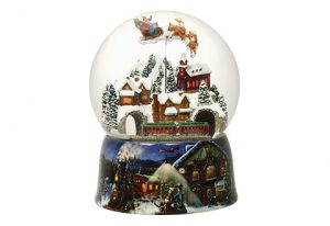 christmas snow globe coloring pages